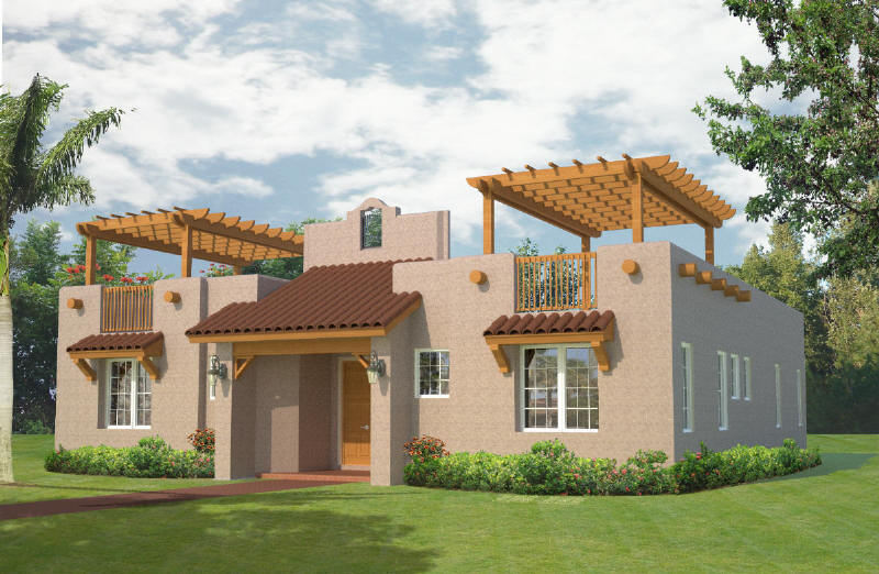 Belize home plans construction and building information - Contemporary southwest home designs ...